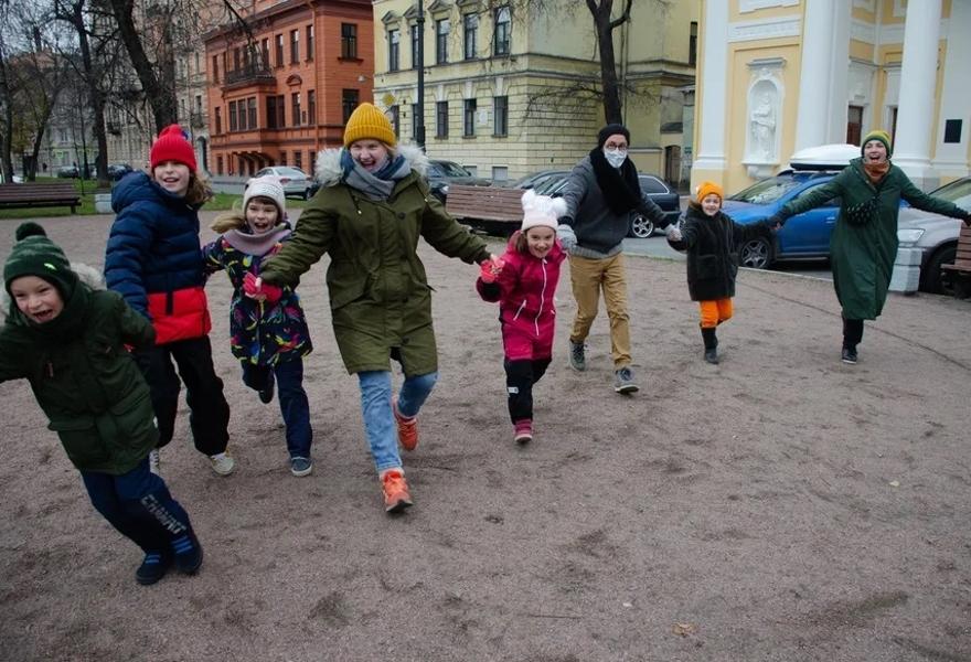 «Прогул» (пешеходная прогулка от ст.м. Чернышевская до Большого театра кукол)