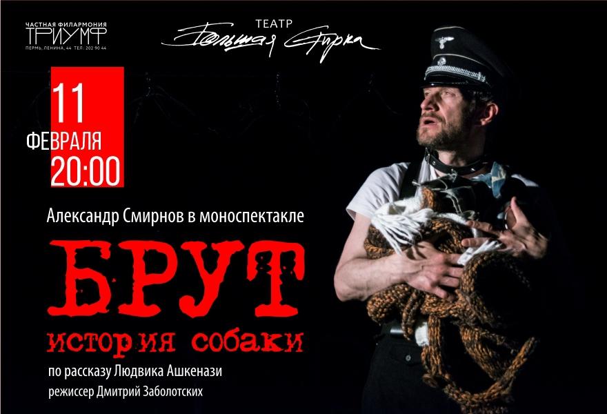 """Спектакль """"Брут - история собаки"""""""