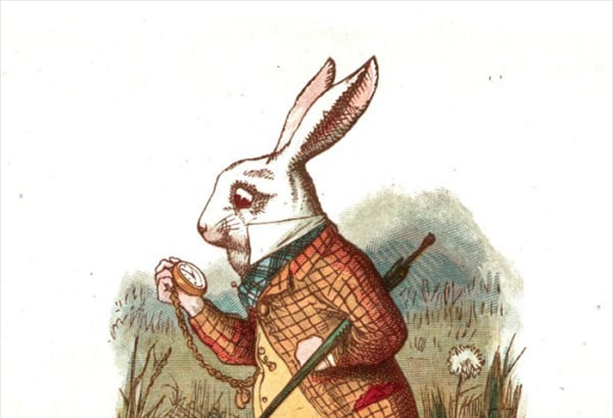 Литературный квест  «АлисА»  по мотивам сказки Льюиса Кэрролла «Алиса в стране чудес»