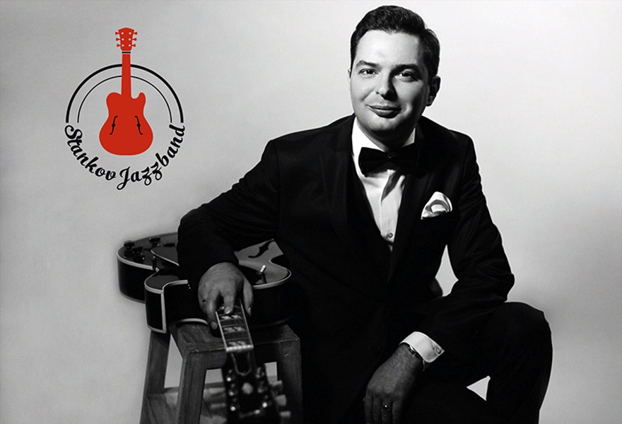 Stankov Jazz Band при участии Ксении Стрижаченко (вокал) с программой Swing! Swing! Swing!