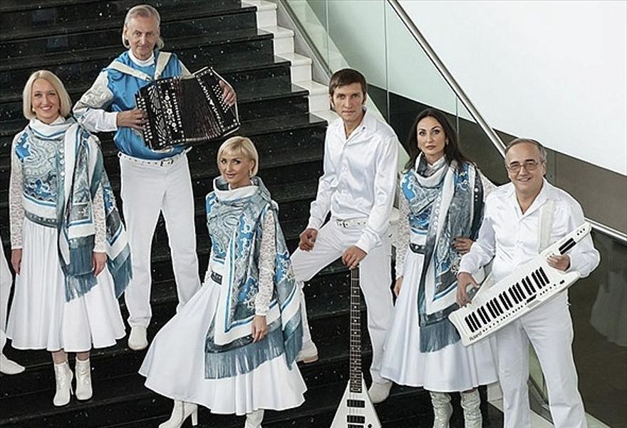 Концерт ВИА «Белые Росы» (Новосибирск)