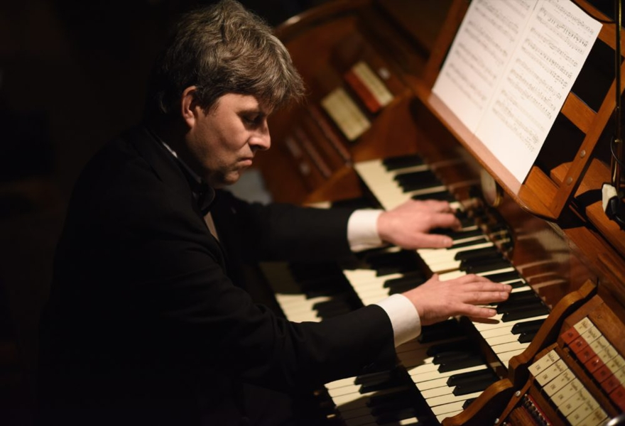 Вечер органной музыки. Играет Фёдор Строганов