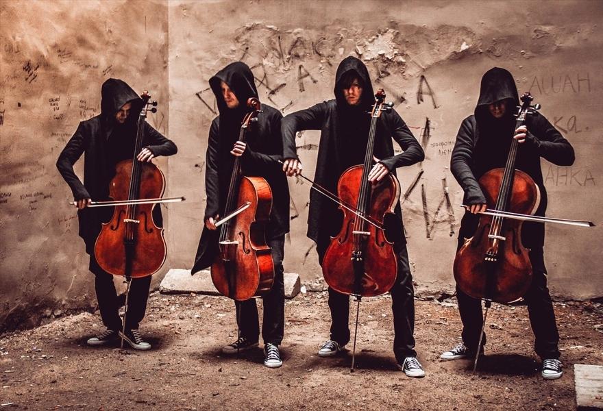 RockCellos: Рок-хиты на виолончелях. Концерт на крыше