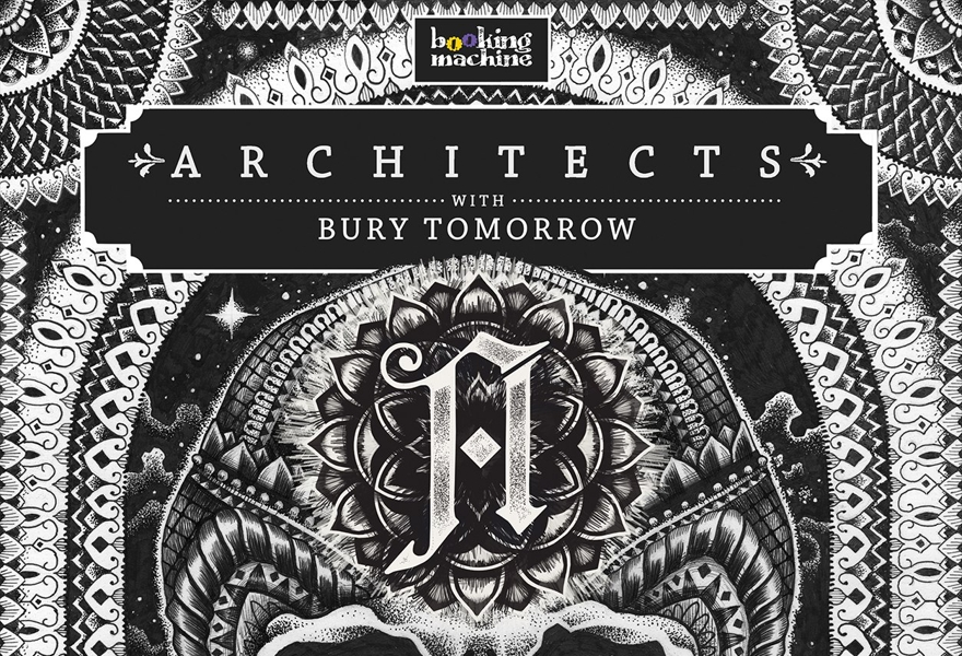 Architects (UK), Bury Tomorrow (UK) в Питере