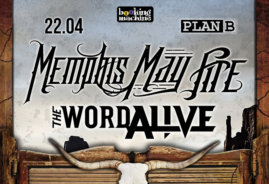 Memphis May Fire (USA), The Word Alive (USA) в Москве