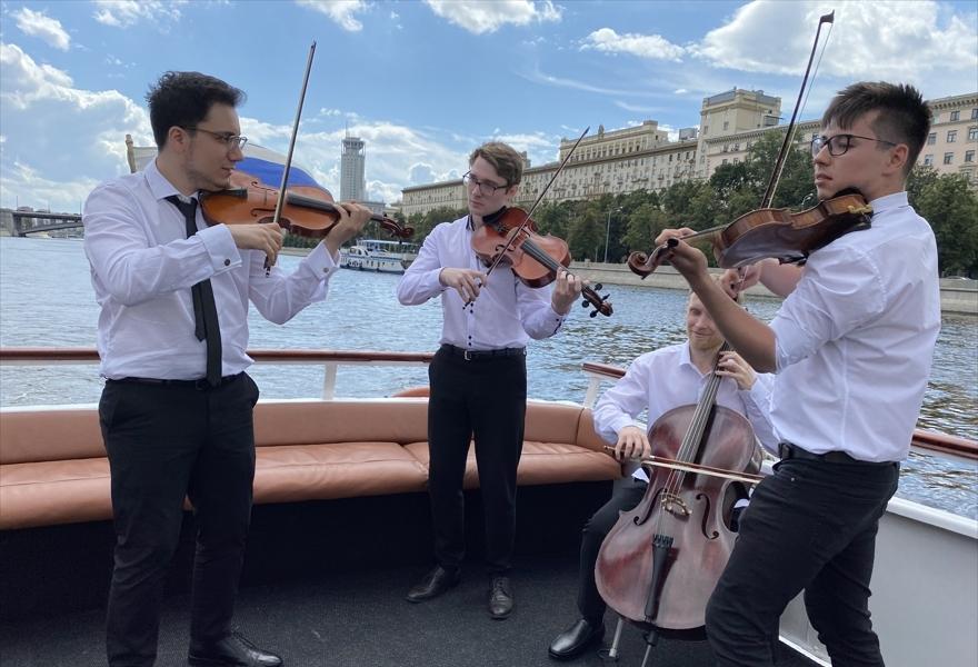 Концерт классической музыки на теплоходе
