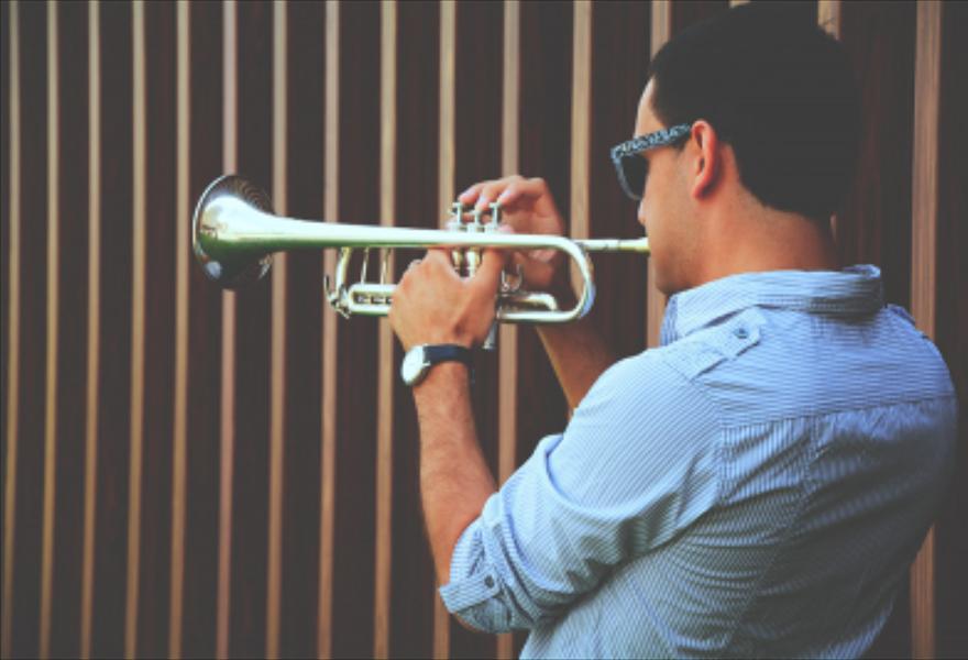 Артем Айвазян (труба) и The Band
