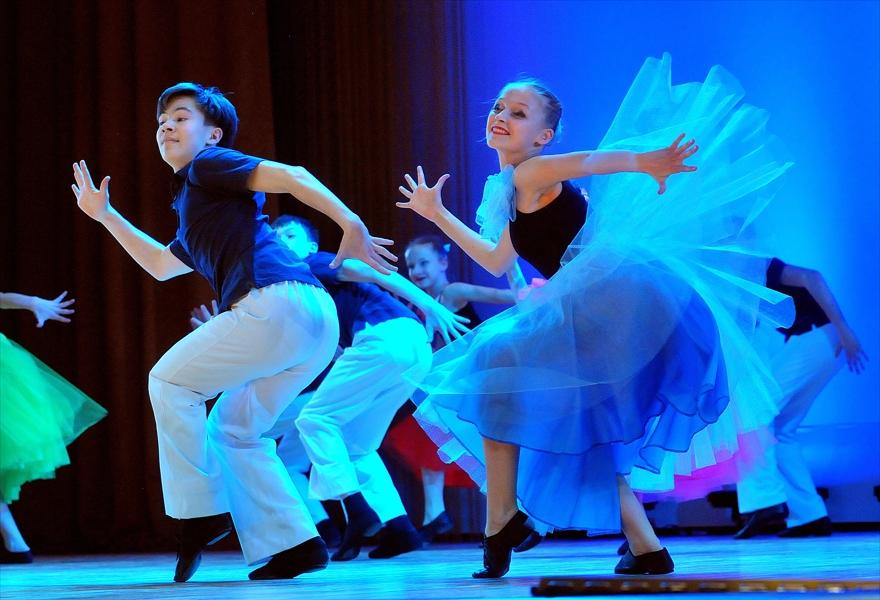 """Вечер современного танца. Концерт ансамбля танца """"Улыбка"""""""
