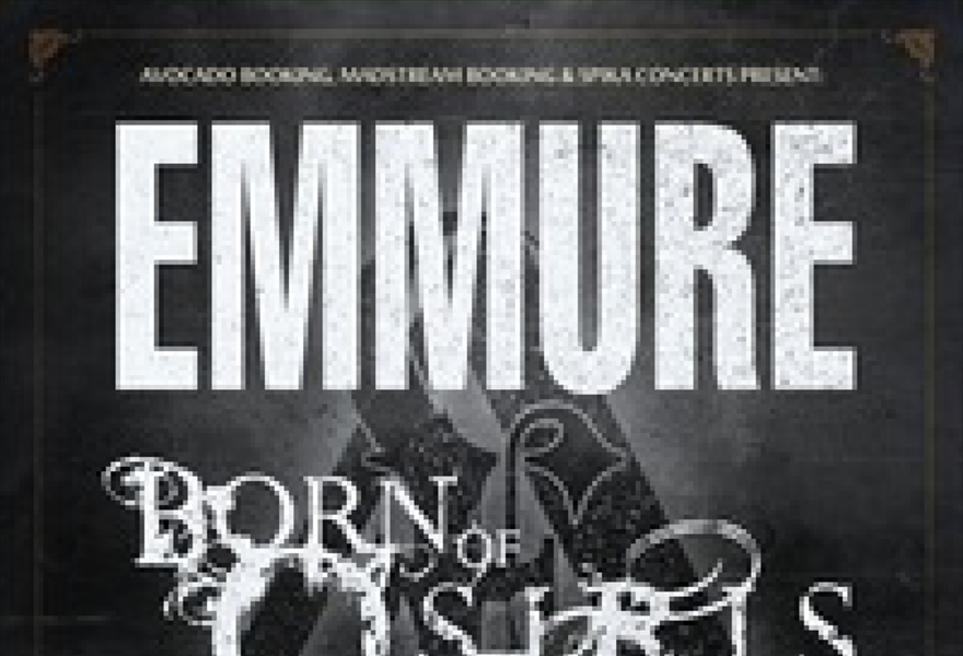 EMMURE (USA) & BORN OF OSIRIS (USA) в Москве
