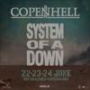 System Of A Down, тур на фестиваль Копенгаген