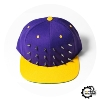 "Снэпбэк ""Spiked"" Purple/Gold"