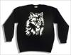 Толстовка - Волк (нанесение - фосфорная пленка (изображение светится в темноте)