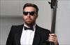 Валентин Лакодин (вокал, контрабас) и Cigar Hall Band