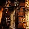 Пять саксофонов и орган