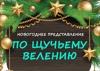 """Новогоднее представление """"По щучьему велению"""""""